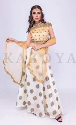 kazoya off shoulder lengha