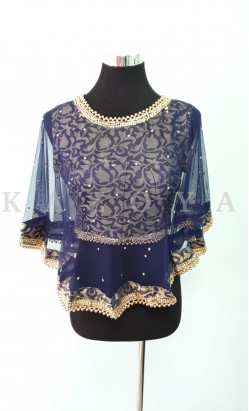 Kazoya Cape blouse